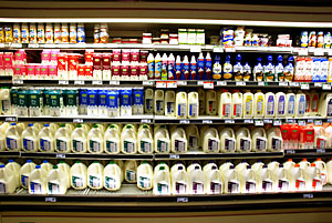 Dairy Display Case